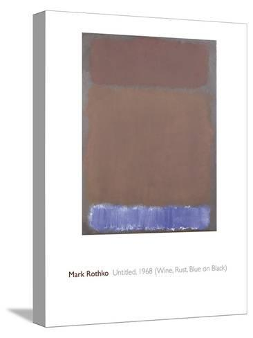 Untitled, 1968-Mark Rothko-Stretched Canvas Print