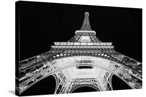 X-ray - Eiffel Heights-John Harper-Stretched Canvas Print
