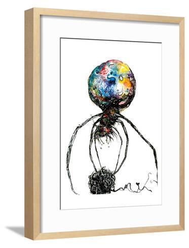 Araignéechat-Isabelle Larivi?re-Framed Art Print