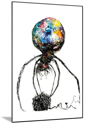 Araignéechat-Isabelle Larivi?re-Mounted Art Print