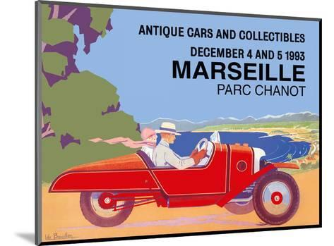 Marseille, France - Antique Cars and Collectibles - Le Parc Chanot Center - Cyclecar Morgan-L?o Bouillon-Mounted Art Print