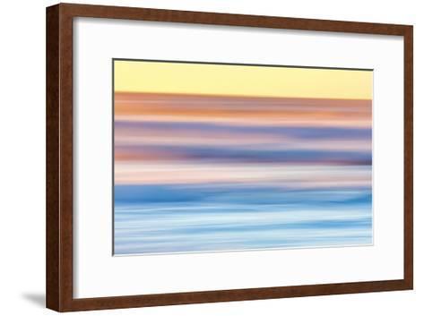 Ocean in Motion 2-Don Paulson-Framed Art Print