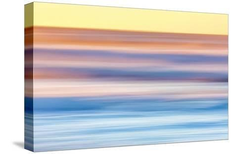 Ocean in Motion 2-Don Paulson-Stretched Canvas Print