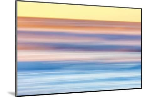 Ocean in Motion 2-Don Paulson-Mounted Giclee Print