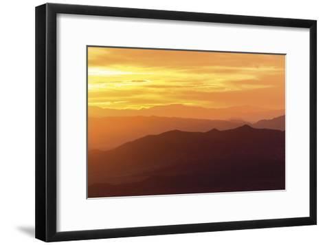 Sunrise from Wheeler Park-Don Paulson-Framed Art Print