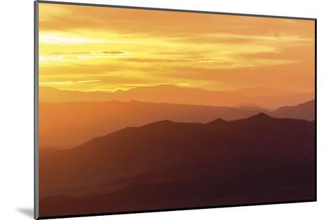 Sunrise from Wheeler Park-Don Paulson-Mounted Giclee Print