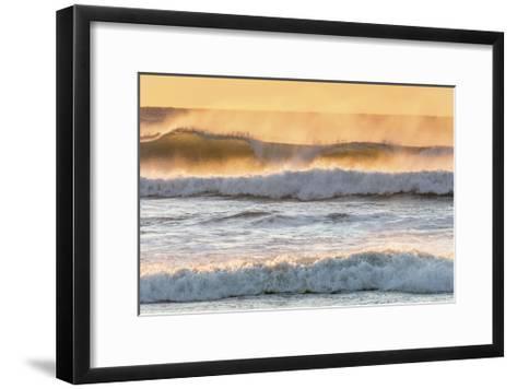 Ocean Surf 2-Don Paulson-Framed Art Print