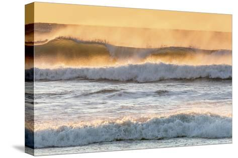 Ocean Surf 2-Don Paulson-Stretched Canvas Print