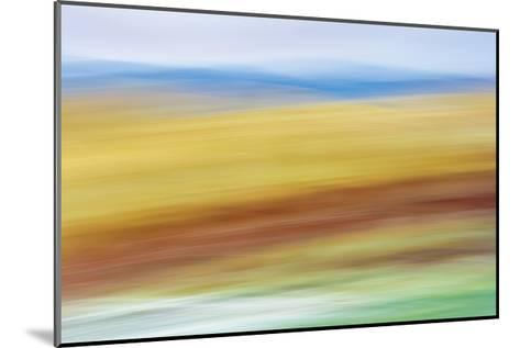 Painted Hills in Motion 4-Don Paulson-Mounted Giclee Print