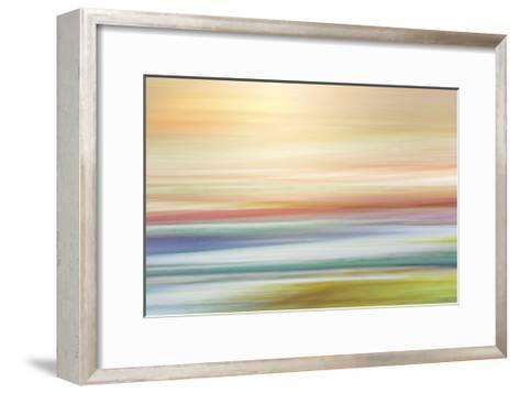Painted Hills in Motion 1-Don Paulson-Framed Art Print
