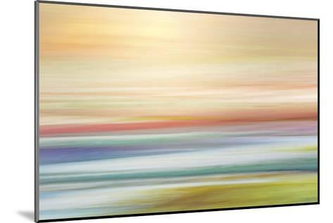 Painted Hills in Motion 1-Don Paulson-Mounted Giclee Print