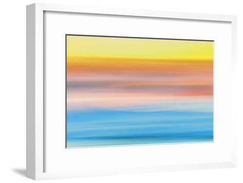Ocean in Motion 1-Don Paulson-Framed Art Print