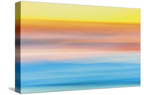 Ocean in Motion 1-Don Paulson-Stretched Canvas Print