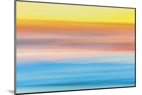 Ocean in Motion 1-Don Paulson-Mounted Giclee Print