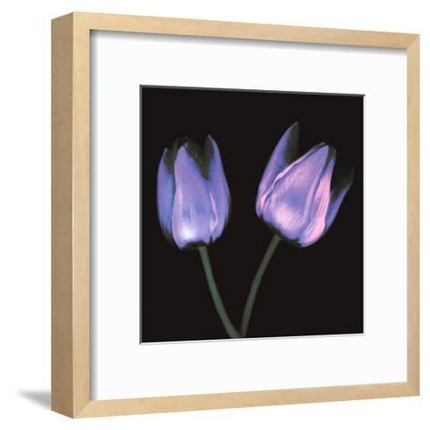 Electric Flowers No.3-Mark Baker-Framed Art Print