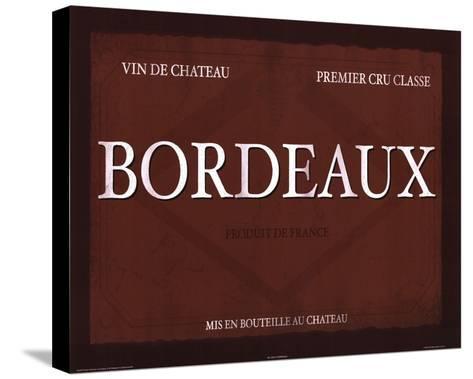 Bordeaux-Paulo Viveiros-Stretched Canvas Print