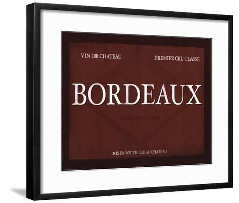 Bordeaux-Paulo Viveiros-Framed Art Print