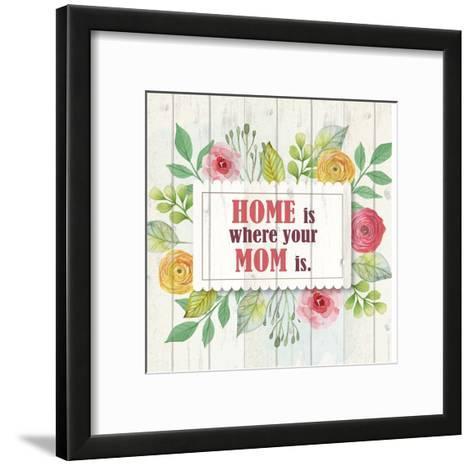 Mom Is Home-Kimberly Allen-Framed Art Print