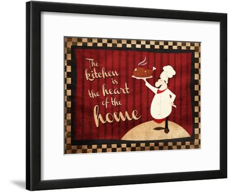 Heart Of The Home-Jace Grey-Framed Art Print