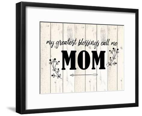 Mom-Kimberly Allen-Framed Art Print