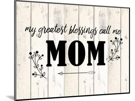 Mom-Kimberly Allen-Mounted Art Print