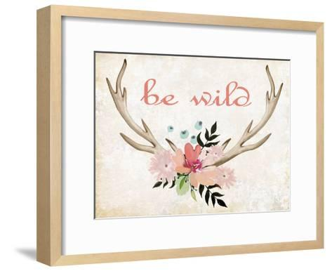 Be Wild-Kimberly Allen-Framed Art Print