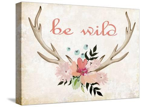 Be Wild-Kimberly Allen-Stretched Canvas Print