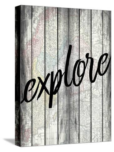 Explorer Wood-Kimberly Allen-Stretched Canvas Print
