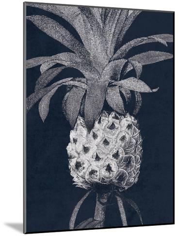 Indigo Pine 1-Sheldon Lewis-Mounted Art Print