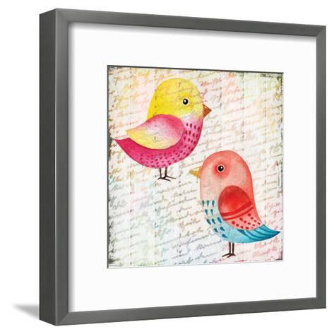 Chirping 1-Kimberly Allen-Framed Art Print