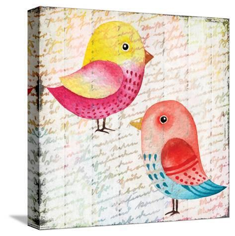 Chirping 1-Kimberly Allen-Stretched Canvas Print