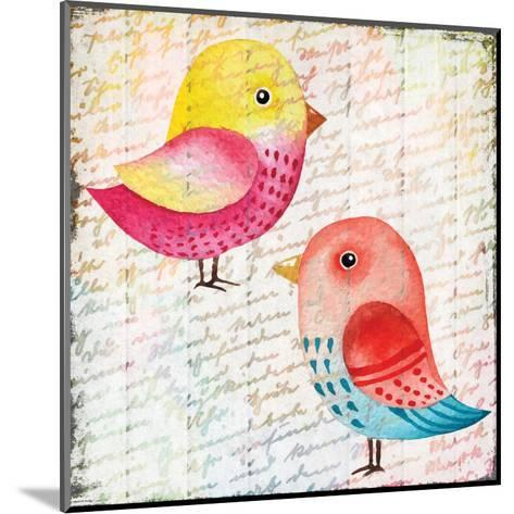 Chirping 1-Kimberly Allen-Mounted Art Print