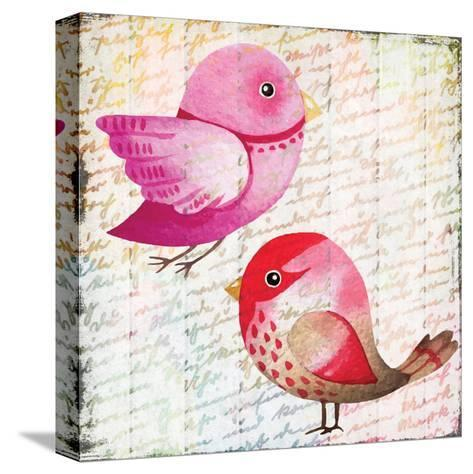 Chirping 3-Kimberly Allen-Stretched Canvas Print