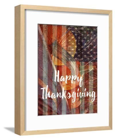 Thanksgiving-Sheldon Lewis-Framed Art Print