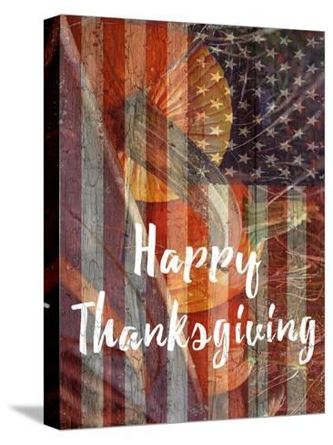 Thanksgiving-Sheldon Lewis-Stretched Canvas Print