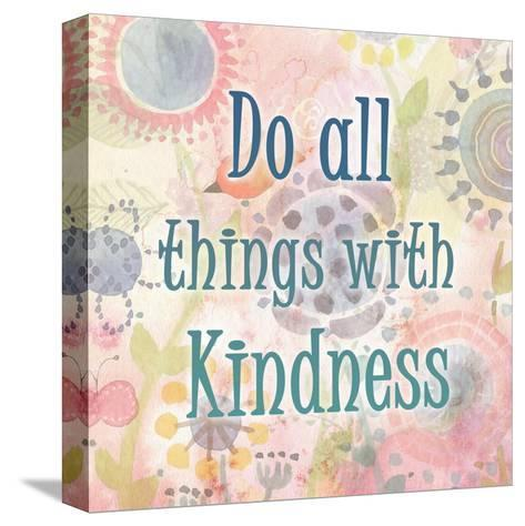 Do all Things-Kimberly Allen-Stretched Canvas Print