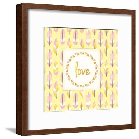 Boho Love-Kimberly Allen-Framed Art Print