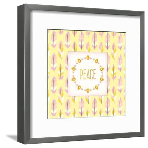 Boho Peace-Kimberly Allen-Framed Art Print