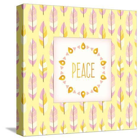 Boho Peace-Kimberly Allen-Stretched Canvas Print