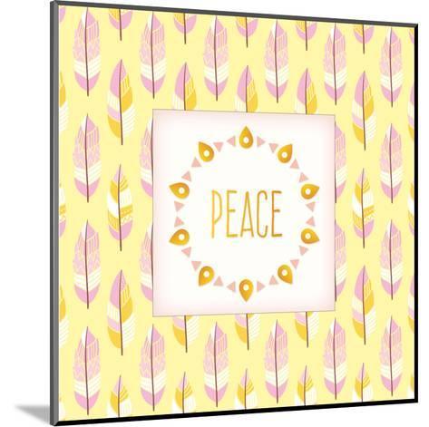 Boho Peace-Kimberly Allen-Mounted Art Print