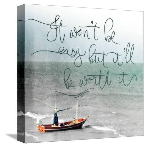 Won't Be Easy-Jace Grey-Stretched Canvas Print