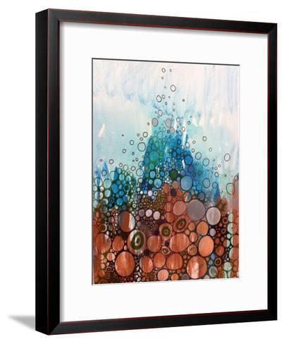 Blue And Bronze-Sarah Butcher-Framed Art Print