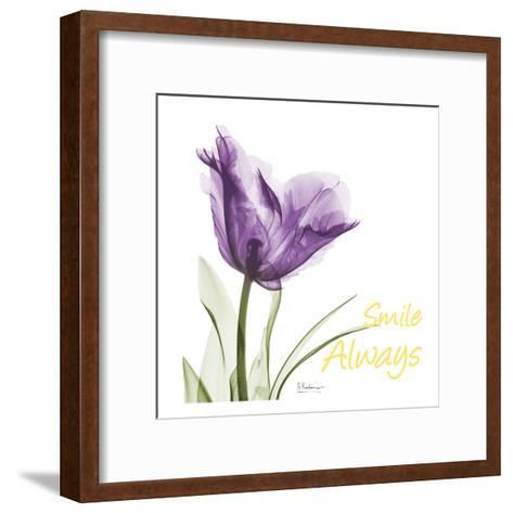 Smile Always Tulip-Albert Koetsier-Framed Art Print