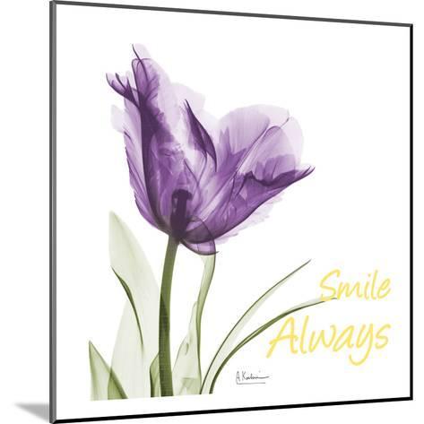 Smile Always Tulip-Albert Koetsier-Mounted Art Print