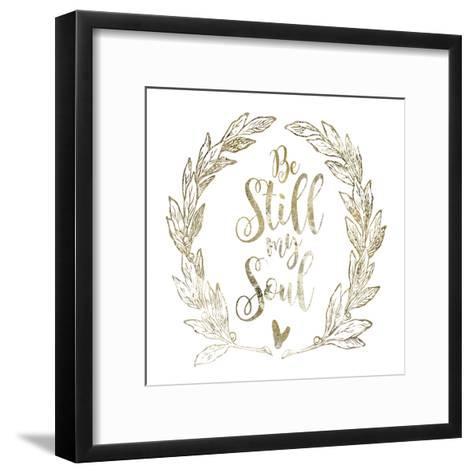 Soul Be Still 2-Melody Hogan-Framed Art Print