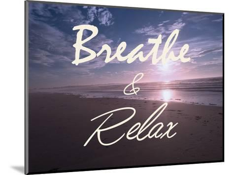 Breathe And Relax-Marcus Prime-Mounted Art Print
