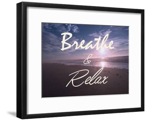 Breathe And Relax-Marcus Prime-Framed Art Print