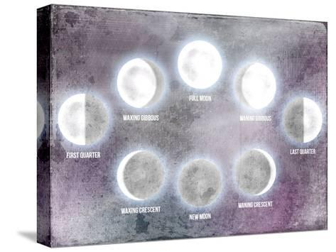 Phases of the Moon-Kimberly Allen-Stretched Canvas Print