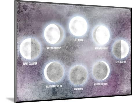 Phases of the Moon-Kimberly Allen-Mounted Art Print