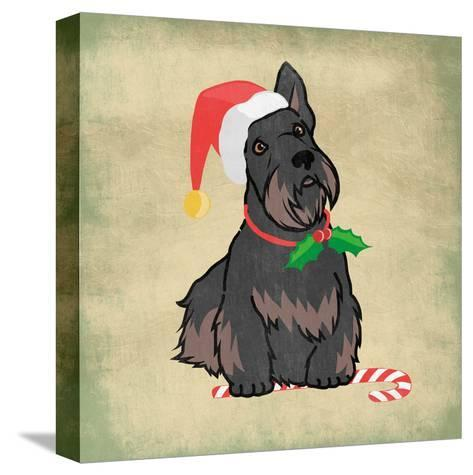 Merry Scottie-Marcus Prime-Stretched Canvas Print